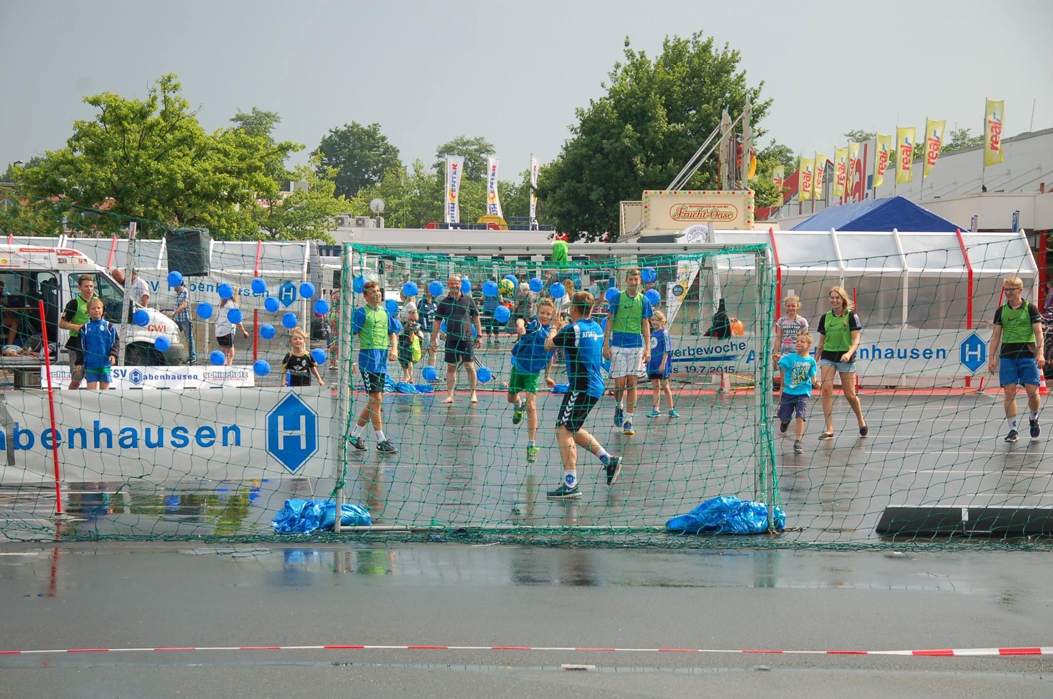 Mit dem SPORTFREUND und real,- die Jugendarbeit des ATSV Habenhausen unterstützen